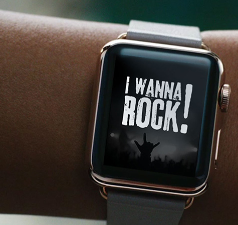 I Wanna Rock - Wearable App