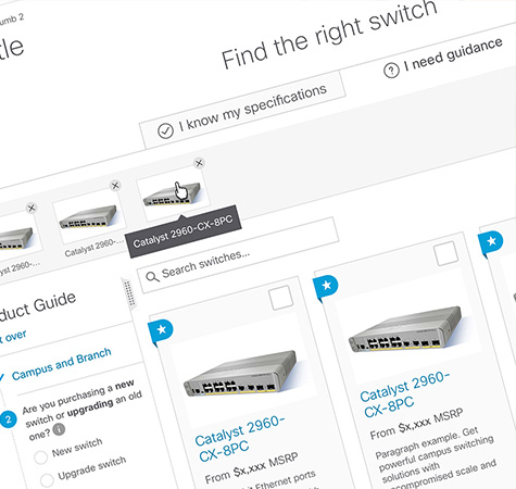Cisco.com - Product Findability